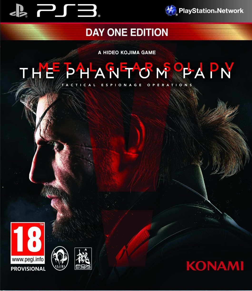 Metal Gear Solid V The Phantom Pain MGS 5 (PS3)